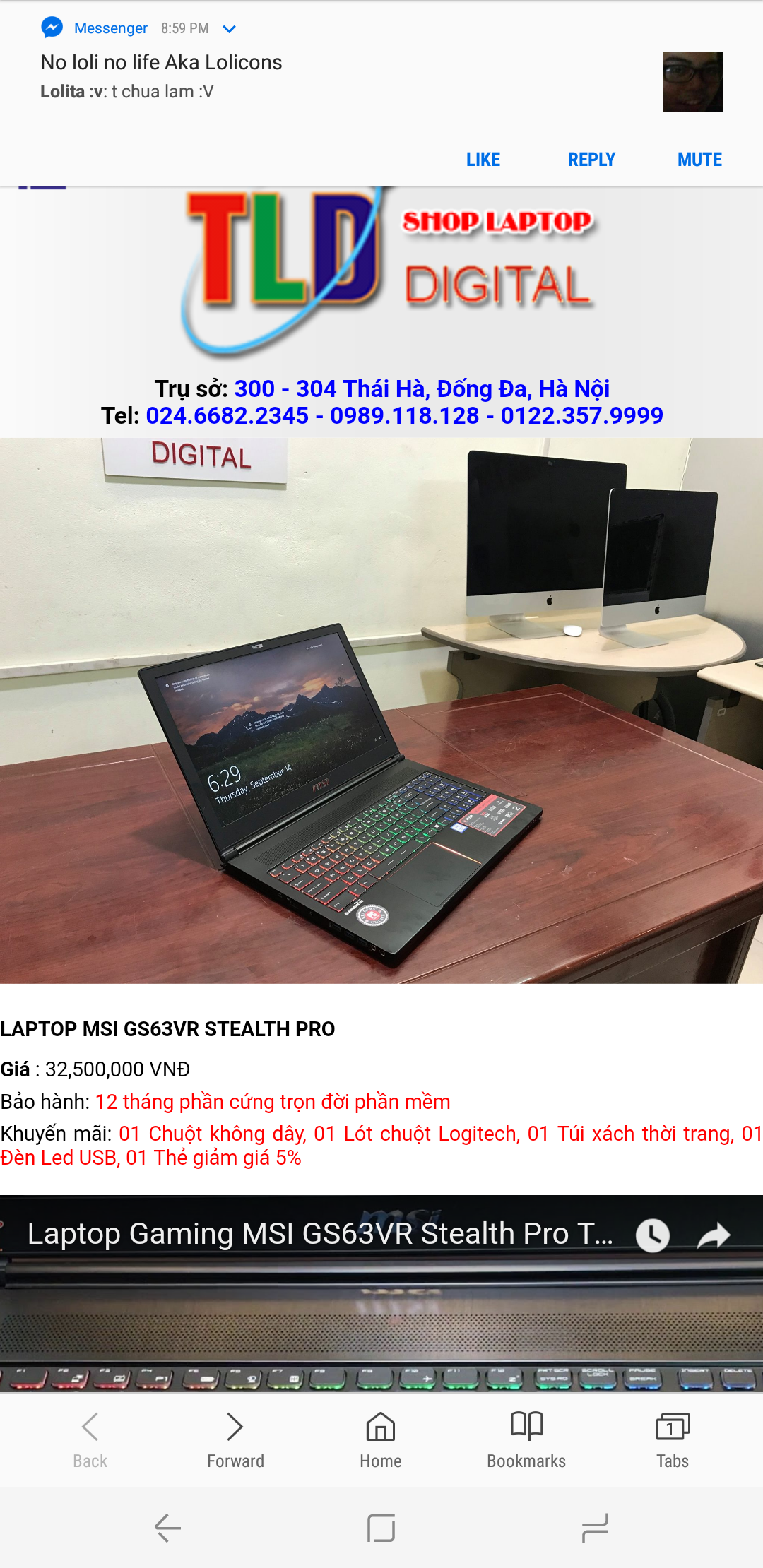 MSI GS63VR 6RF Stealth Pro - Laptops and Pre-Built Systems