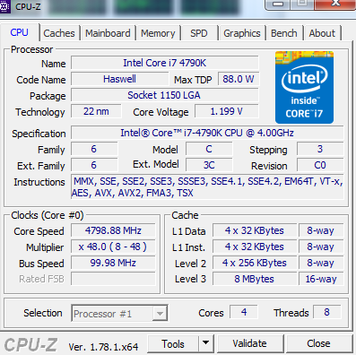 Overclocking i7 4790k with Asrock H97-HD3 - CPUs