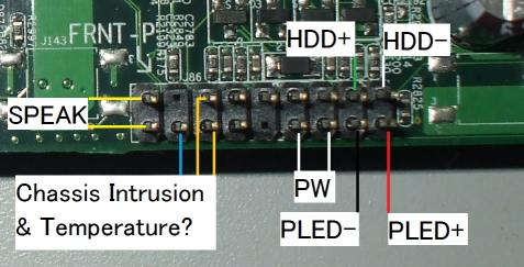 weird' front panel connector   ? - CPUs, Motherboards, and