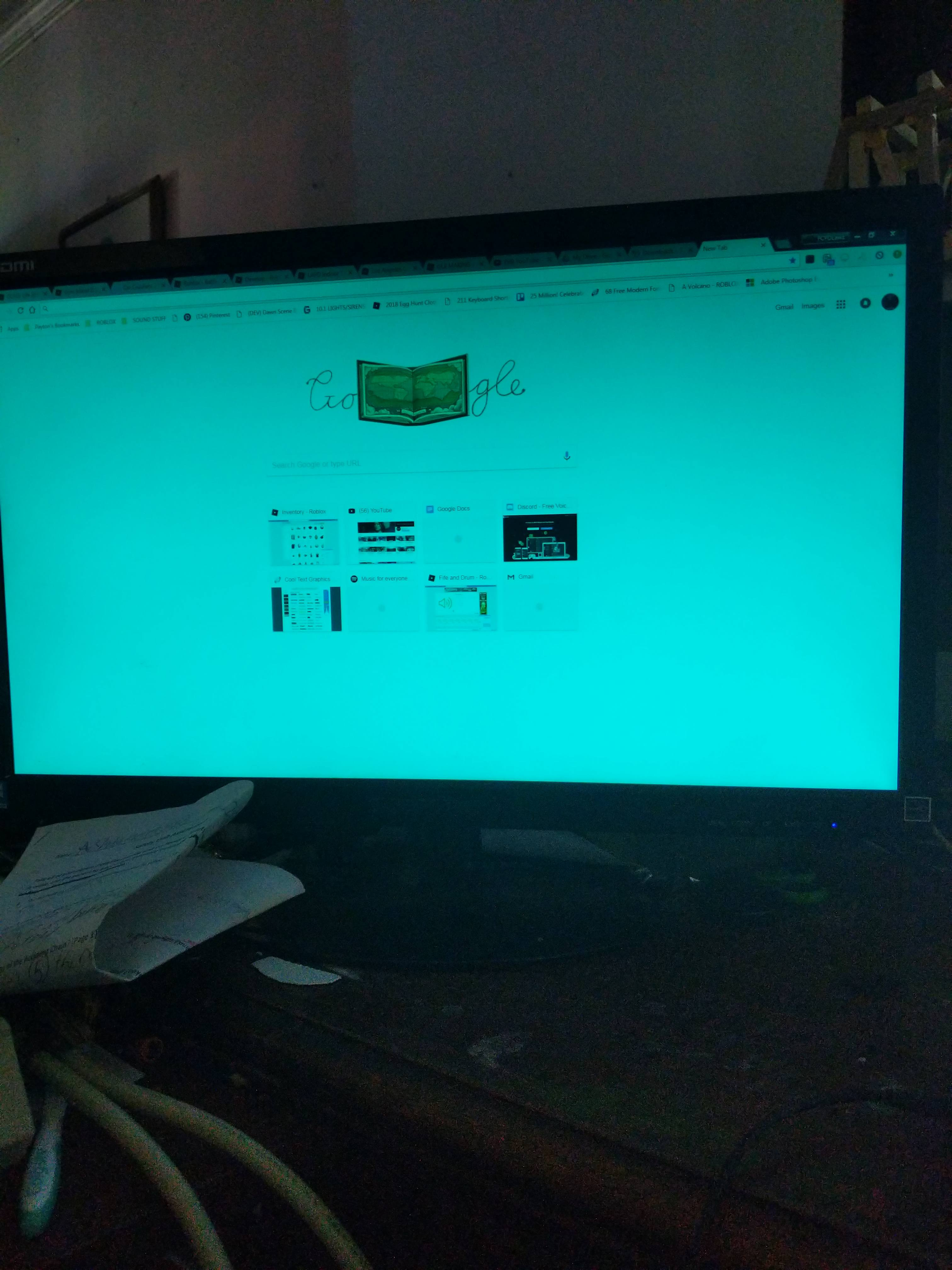 wholesale dealer d20af cb0b2 My monitor screen is blue tinted - Displays - Linus Tech Tips