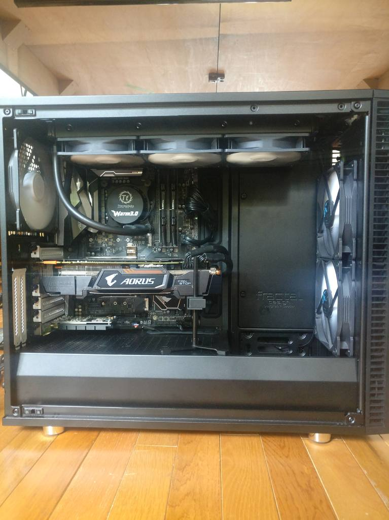 PC Build - panel removed PC off.jpg