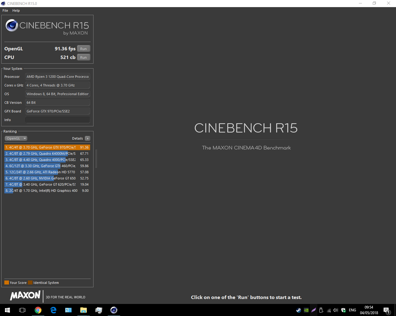 What does the cinebench scores mean? - CPUs, Motherboards
