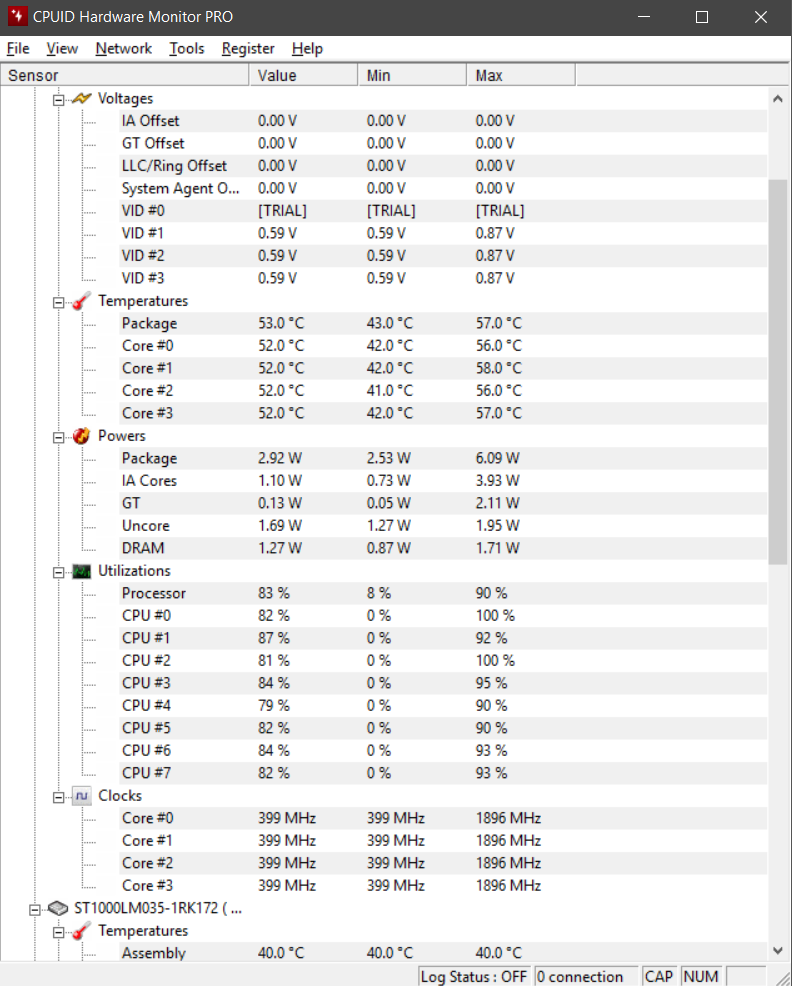 CPU Core Speed drops whenever I'm playing games - CPUs