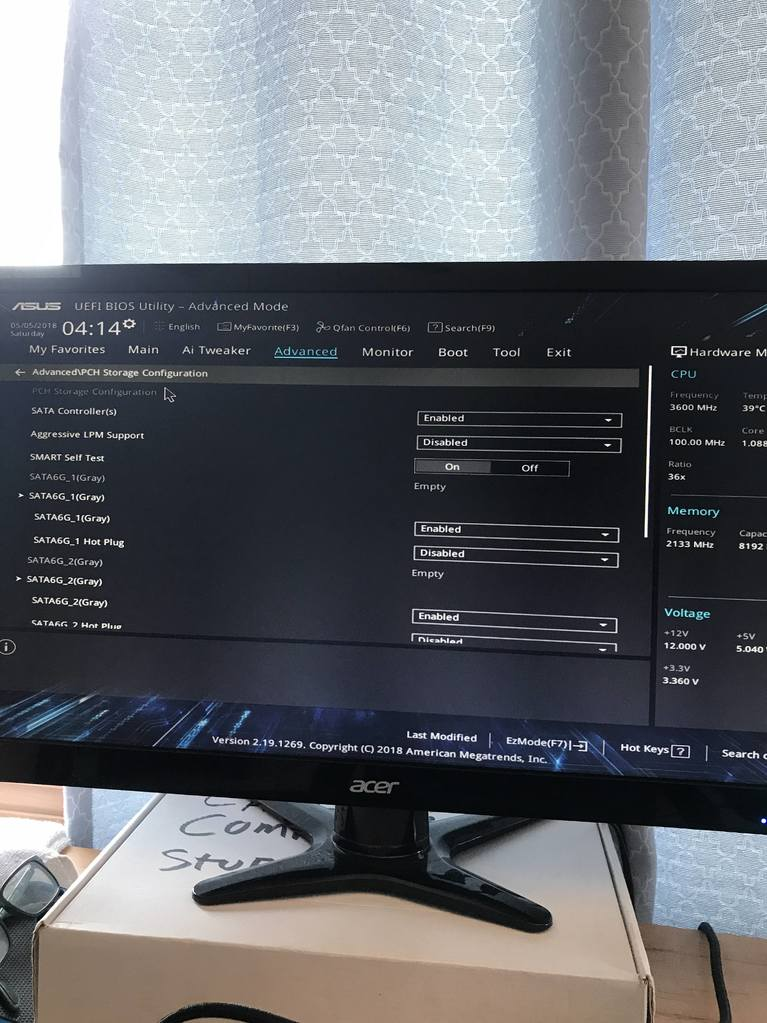 Asus prime h310m-a bios booting help! - Troubleshooting - Linus Tech