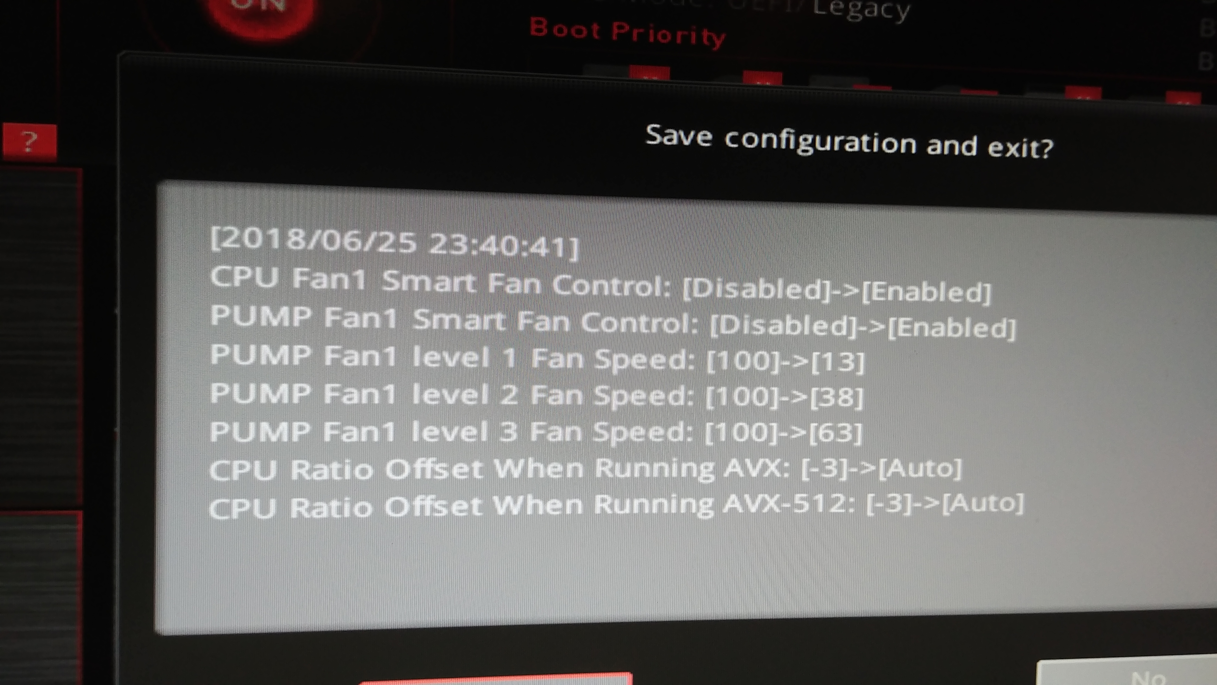 MSI BIOS not updating AIO pump settings - CPUs, Motherboards, and
