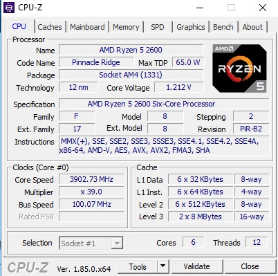 Trying to OCish Ryzen 2600 - CPUs, Motherboards, and Memory