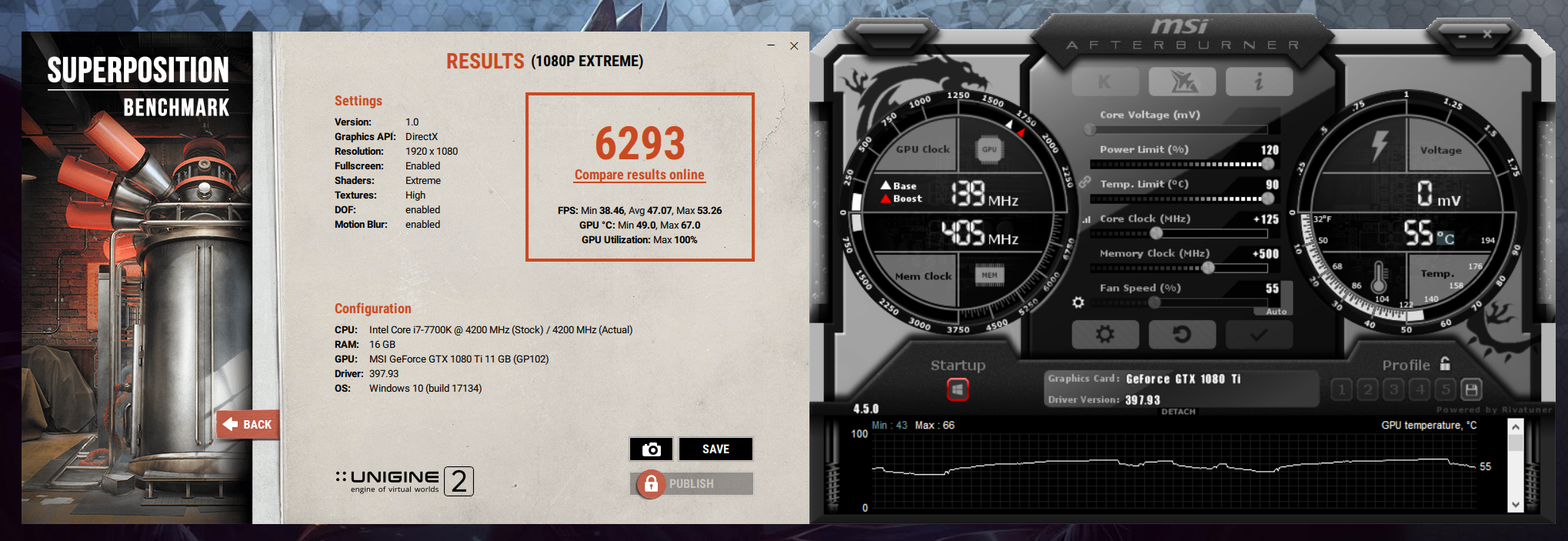 Need opinion for my Superposition benchmark - Graphics Cards - Linus