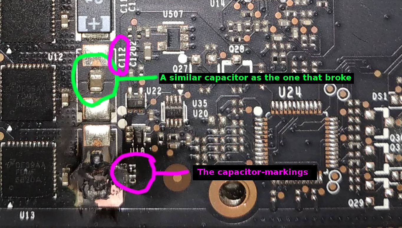 980ti blown resistor   can it be fixed? - Graphics Cards