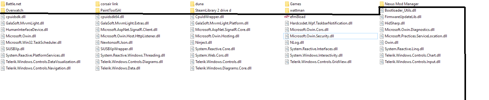 Unknown dll-files never seen before until today - Windows