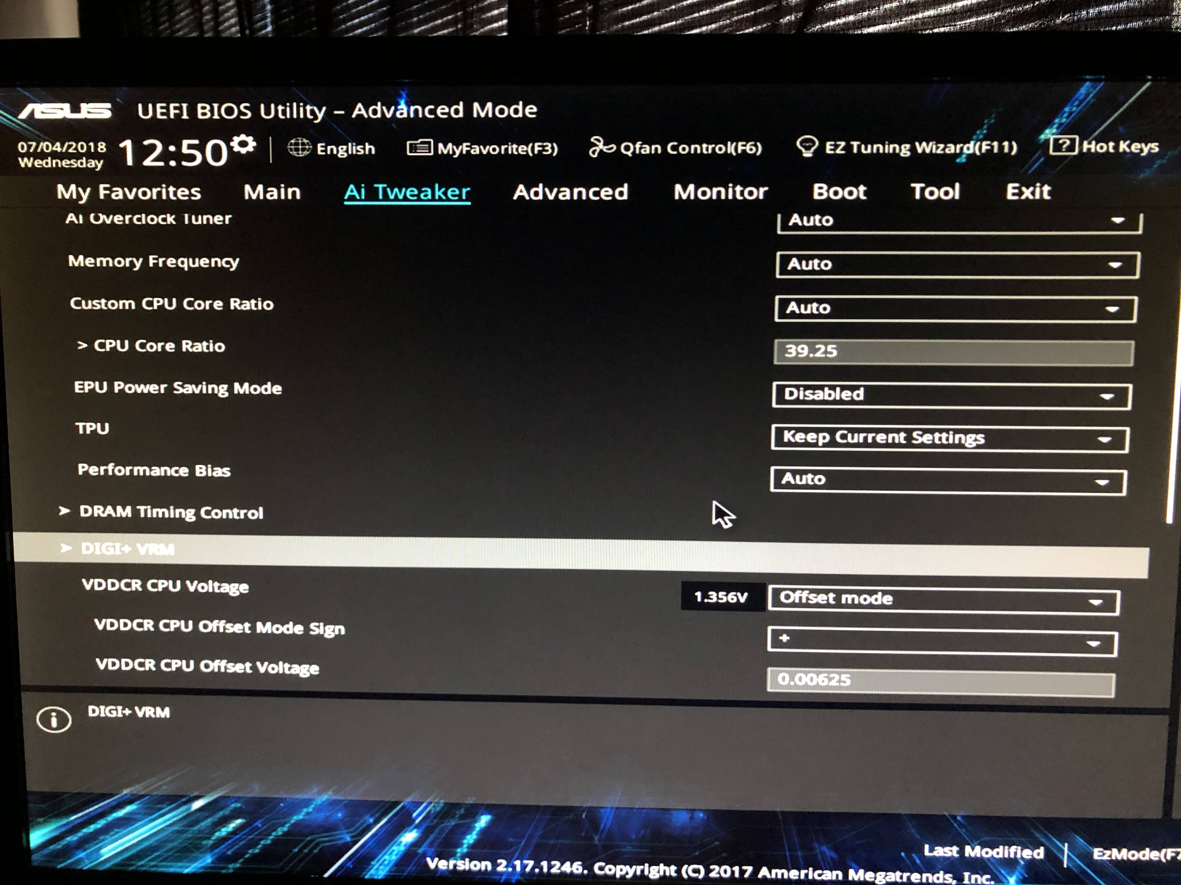 Ryzen 7 1700X Correct Overclock? - CPUs, Motherboards, and