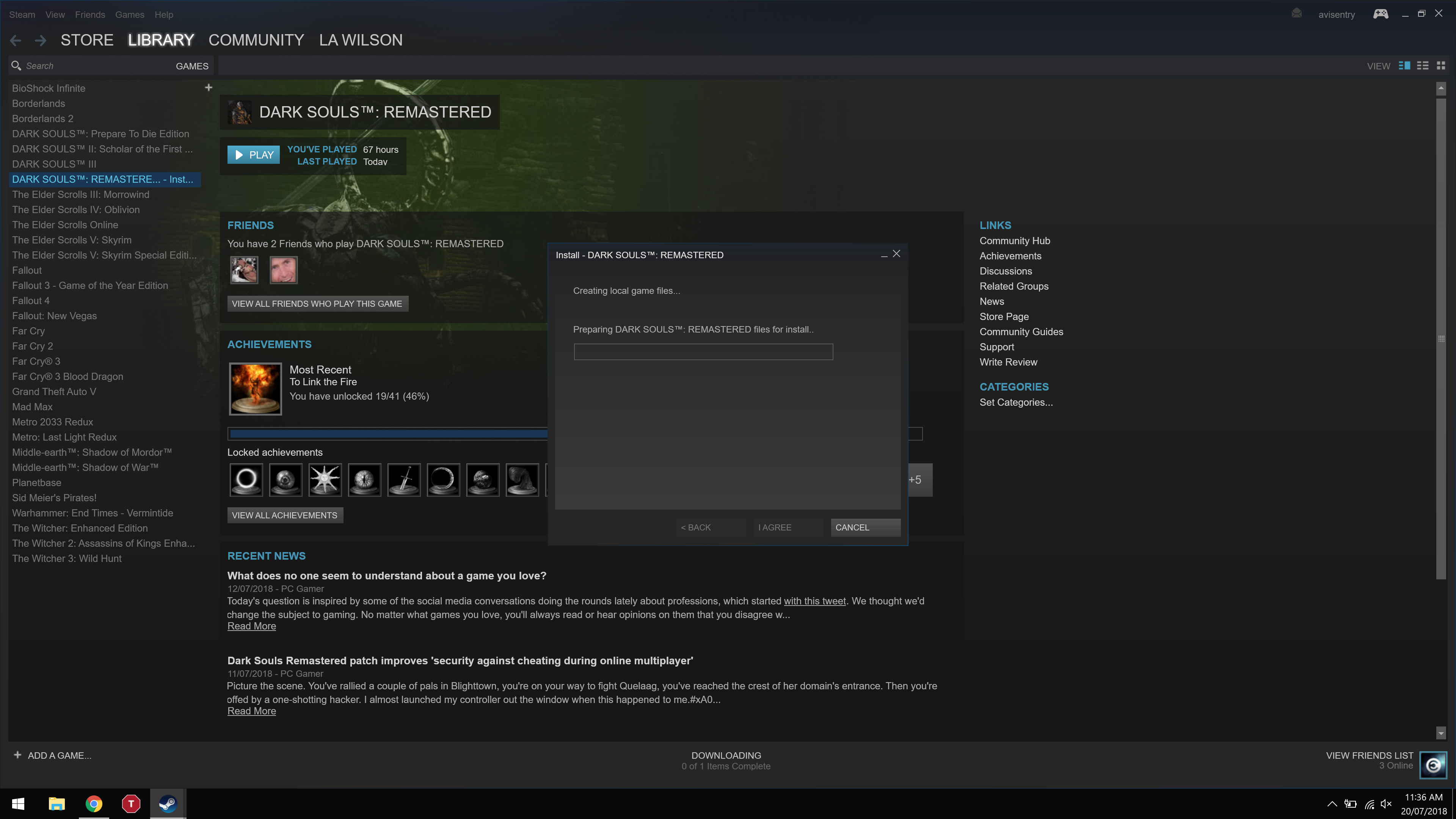 Steam Stuck on 'Creating Local Game Files' - Programs, Apps and