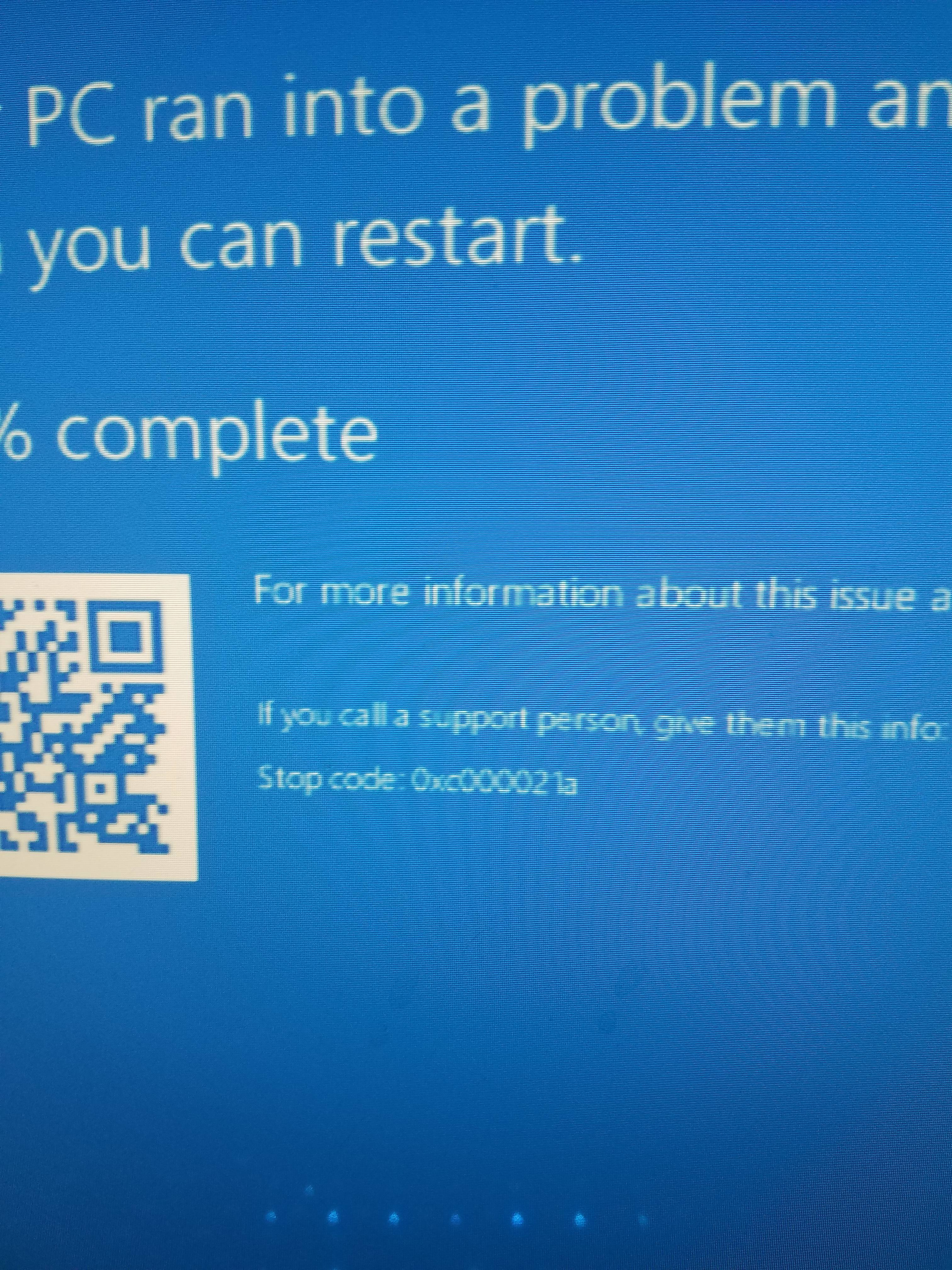 Need help  System Restore Won't Work - Troubleshooting