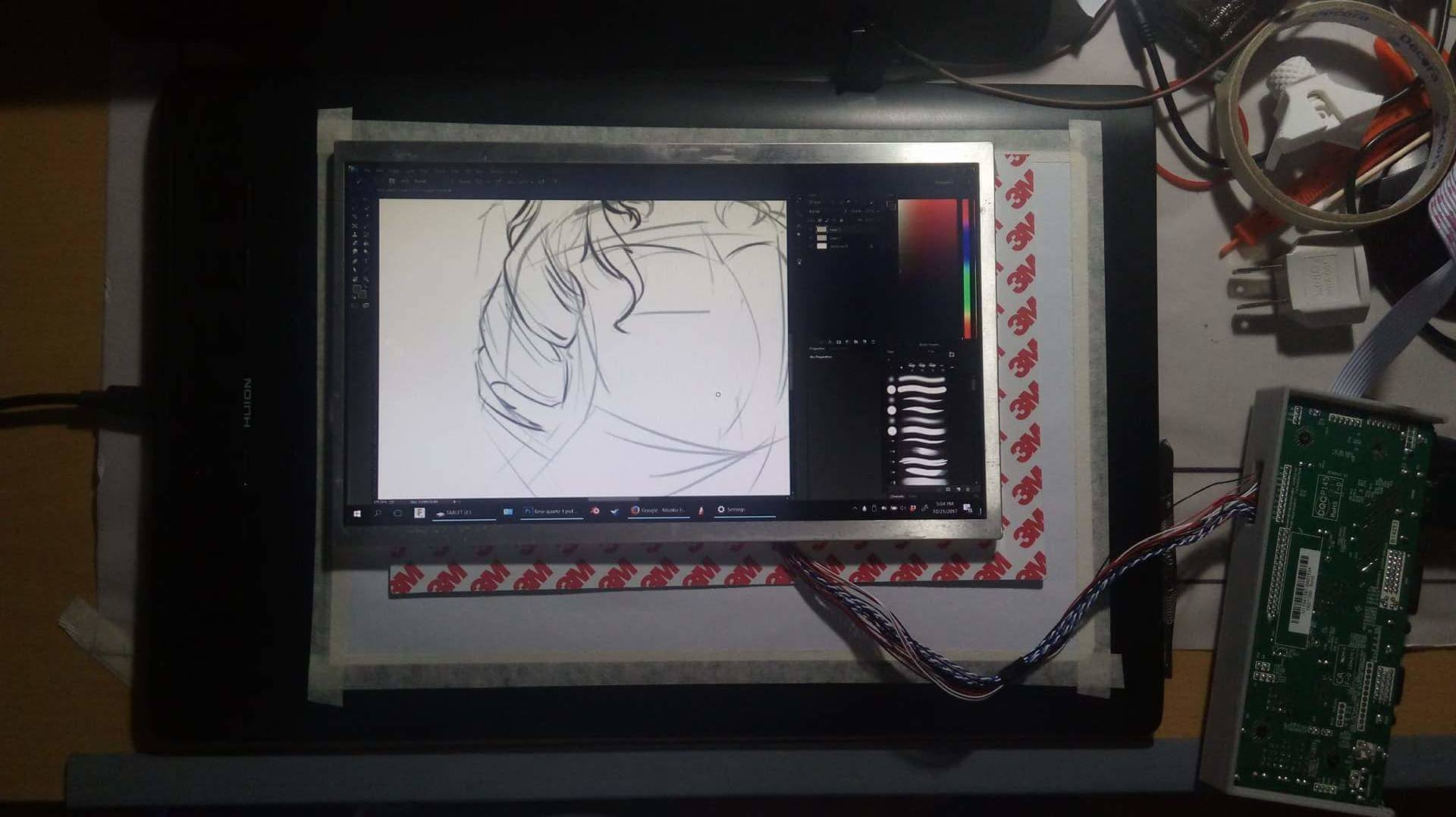 Cheapest Drawing Tablet With Screen Maping Peripherals Linus