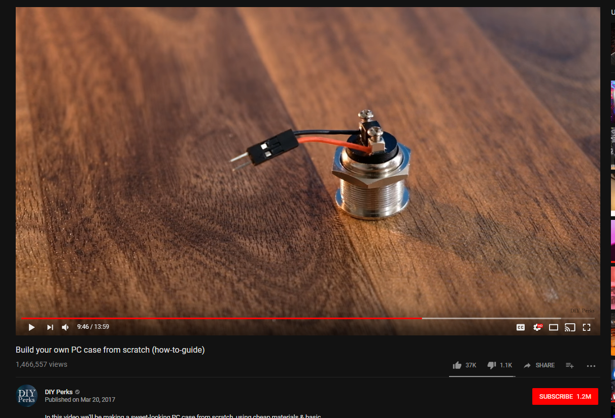 Power Button 2 Pin Connector - Case Modding and Other Mods - Linus