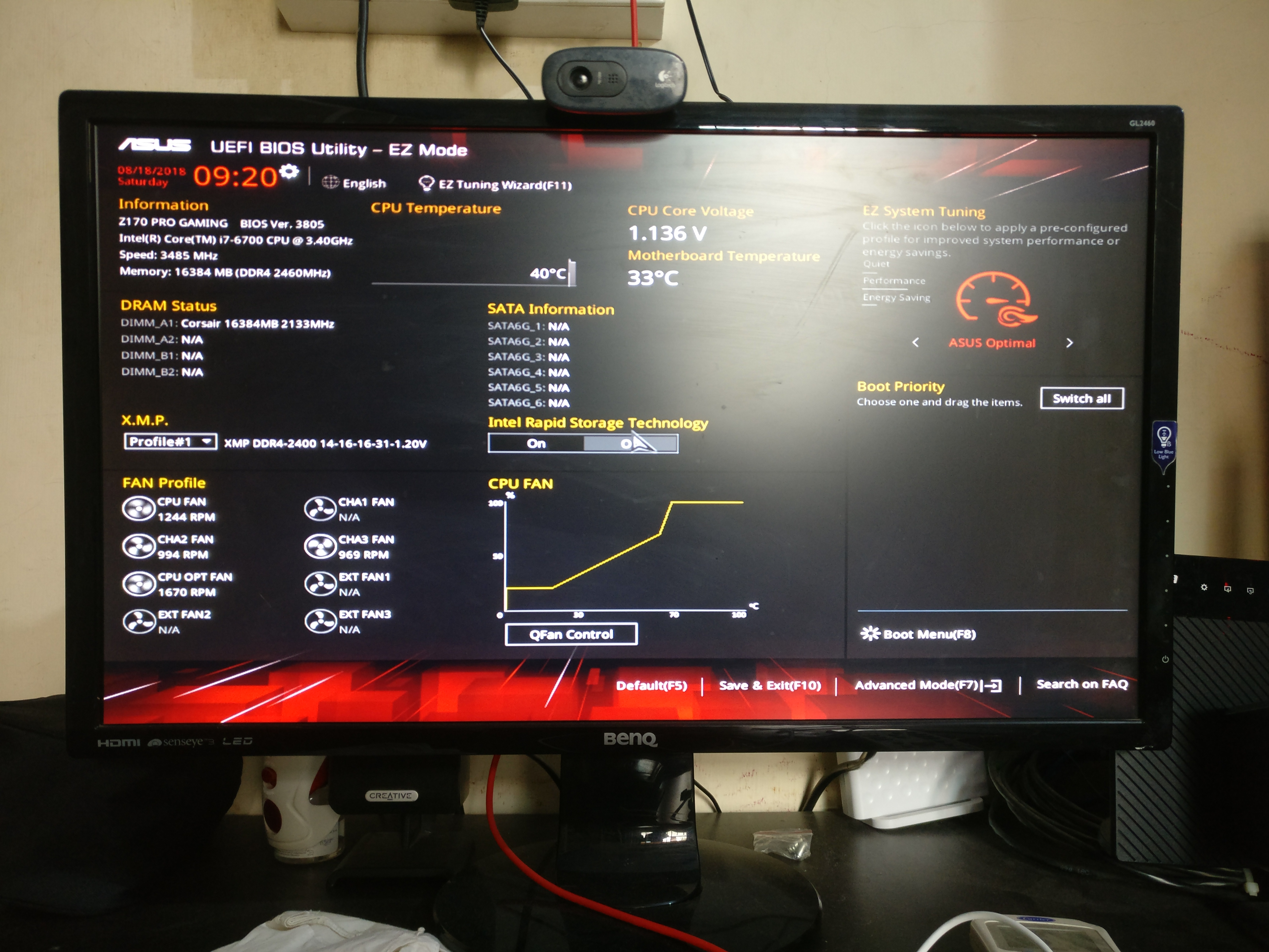 Need help with my WD Black 2TB HDD W/ Asus Z170 Pro Gaming MB