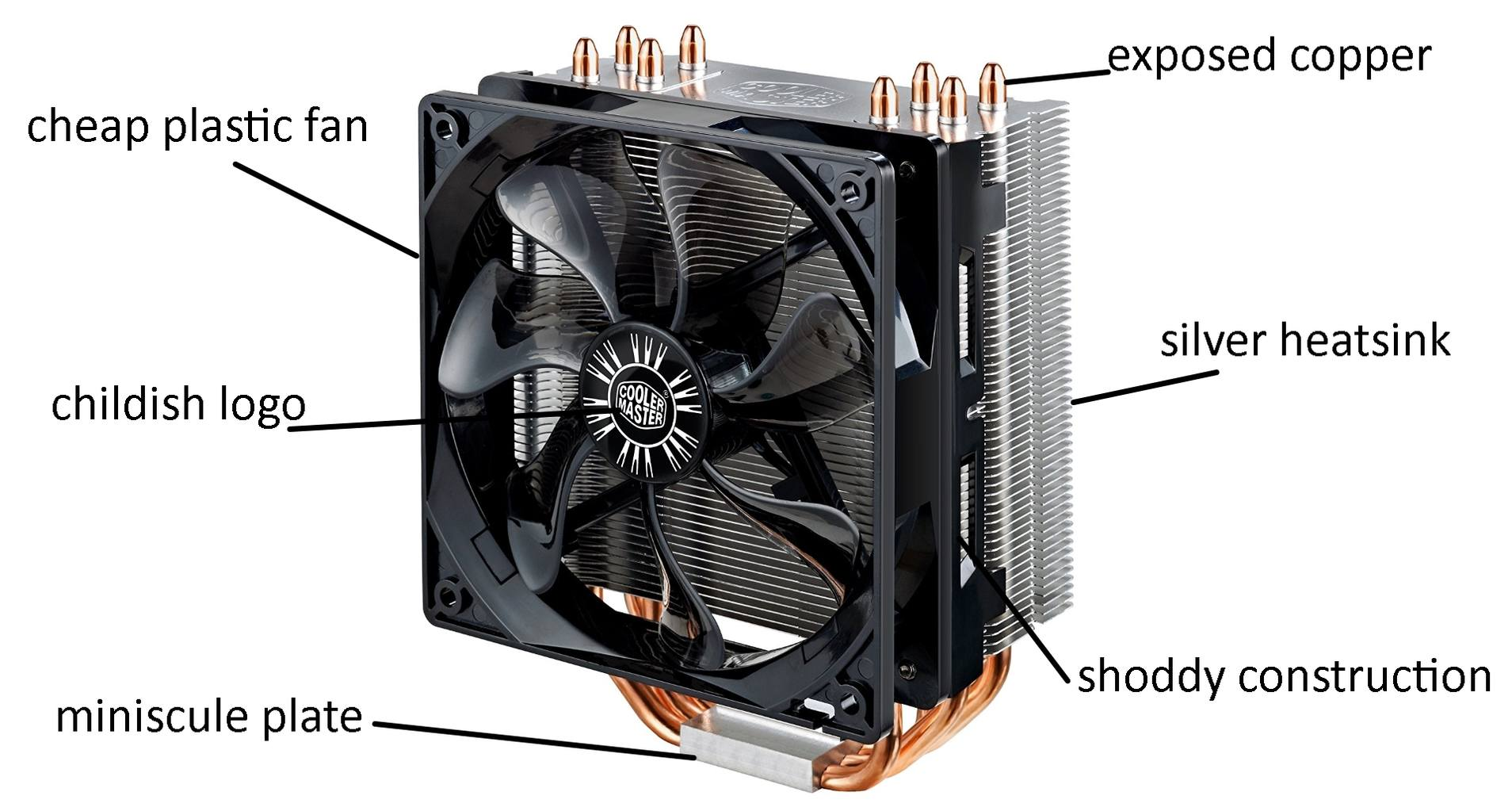 cooler master hyper 212 rgb black edition cpu cooler review
