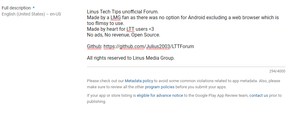 Google Play hates me - Off Topic - Linus Tech Tips