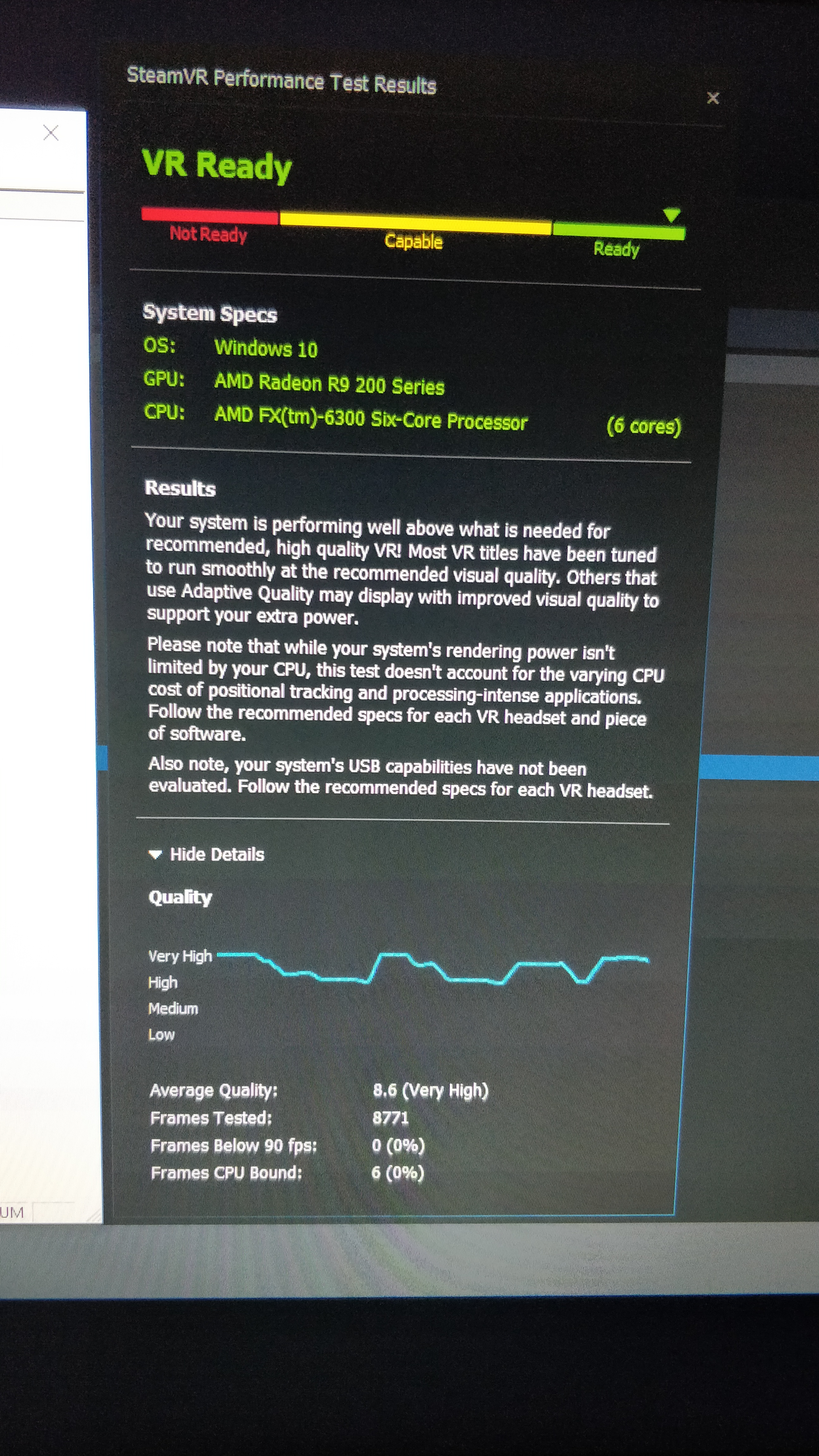 Post your SteamVR Performance Test results here - Page 219 - PC