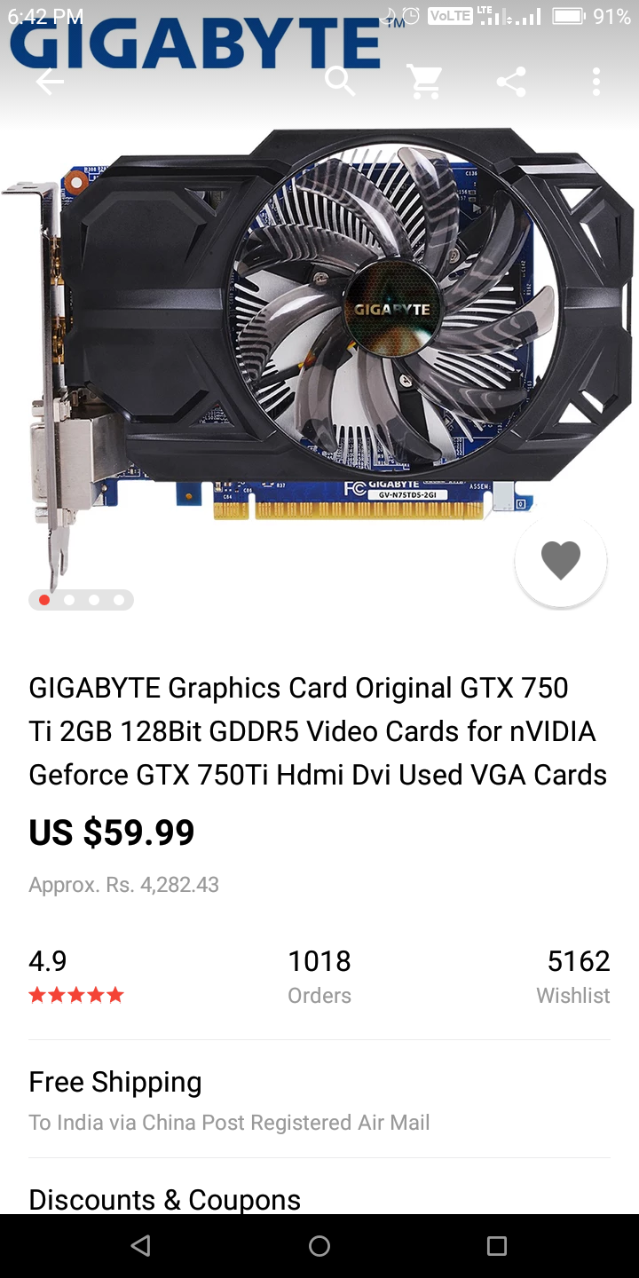 Is it safe to buy a video card from AliExpress? - Graphics Cards