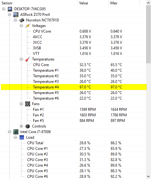 Strangely high CPU temps at idle - CPUs, Motherboards, and