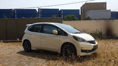 My friend's Honda Jazz, not for drifting of course, he borrowed his friend's BRZ.