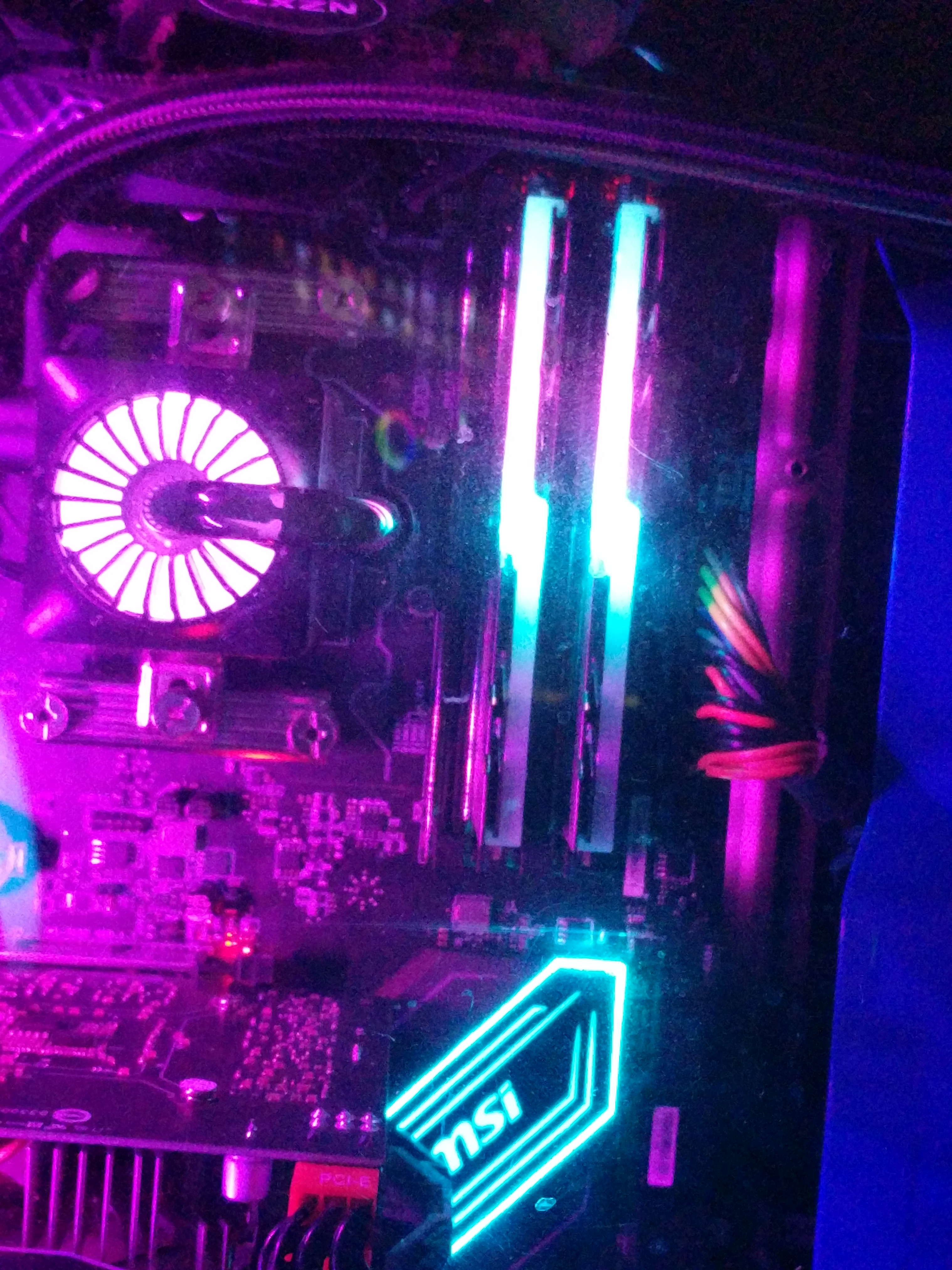 TRIDENT Z RGB LIGHTING - CPUs, Motherboards, and Memory