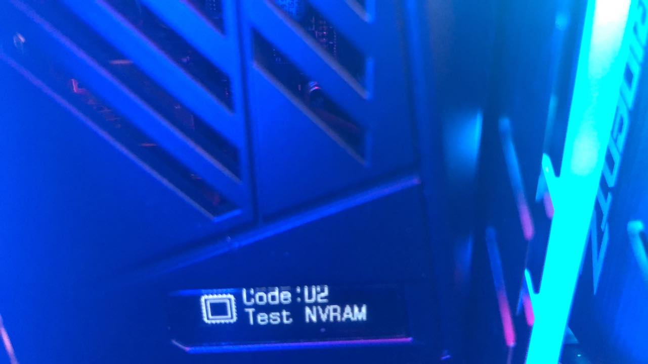 Asus Rog Zenith Extreme post issue code error D2 - CPUs