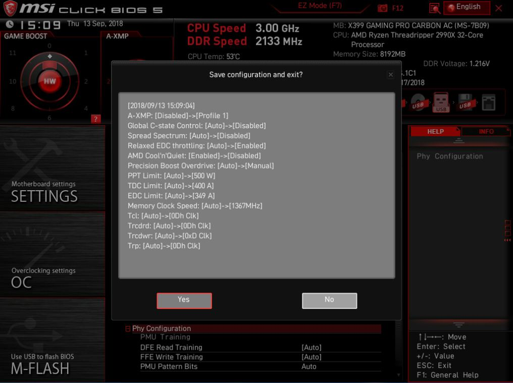 Trying to overclock 2990WX - CPUs, Motherboards, and Memory - Linus