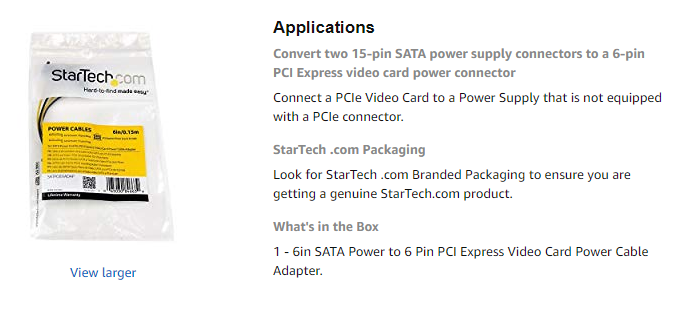 SATA to GTX 660 Adapter - Cases and Power Supplies - Linus Tech Tips