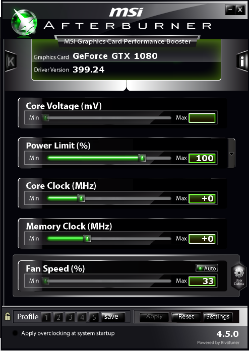 MSI afterburner and power limit - Graphics Cards - Linus Tech Tips