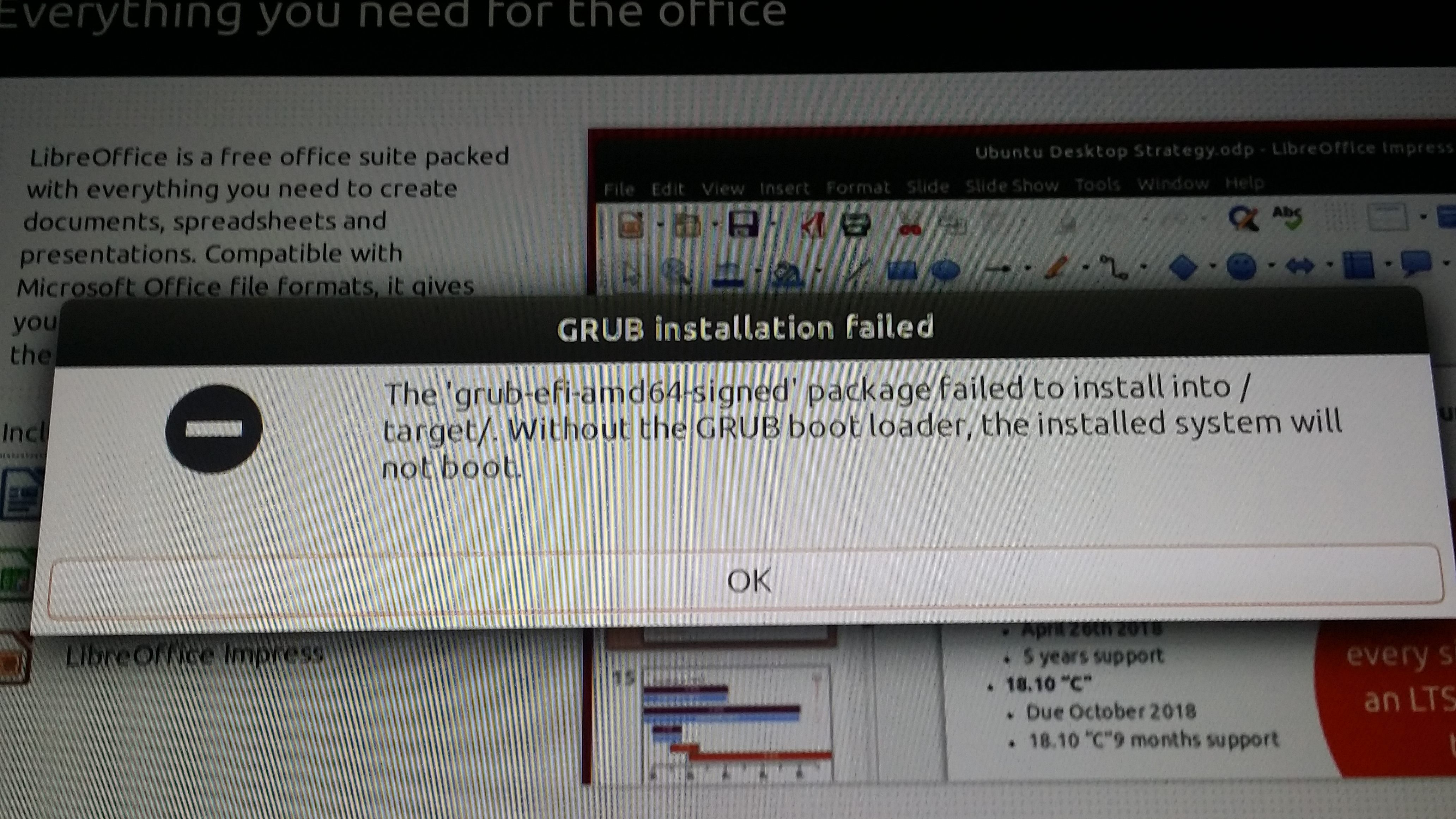 GRUB Boot loader failed on Surface Pro 3 Install - Linux, macOS and