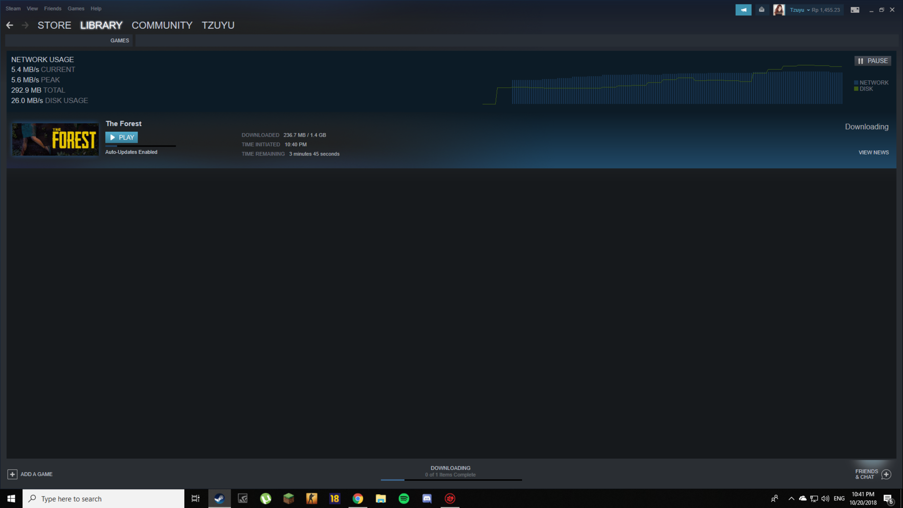 Slow internet but speedtest and steam download speeds tell otherwise