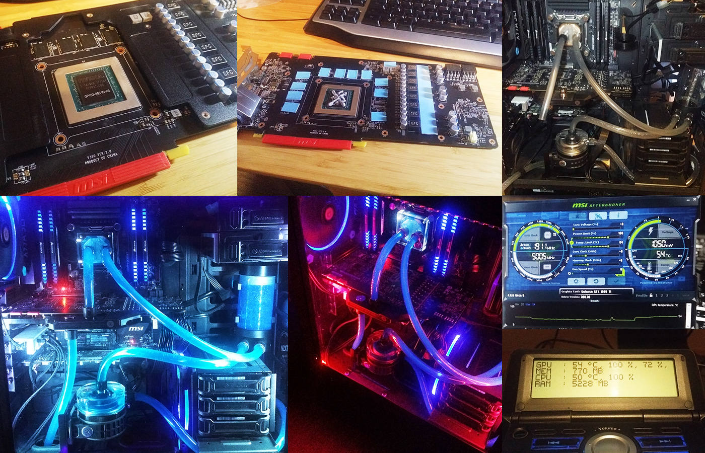 1080 Ti with EK water cooling - Liquid and Exotic Cooling