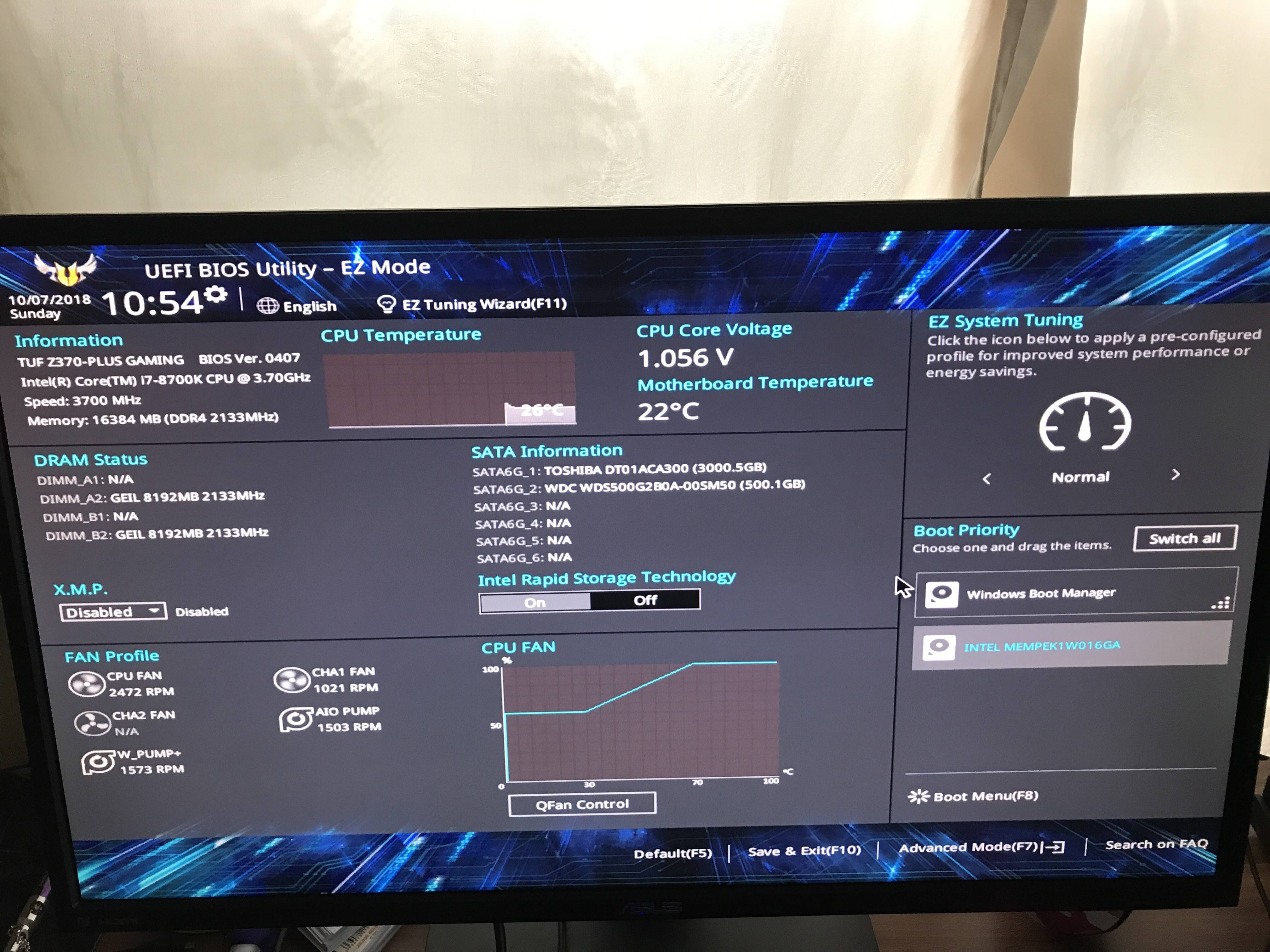 How to get out of Bios loop - Troubleshooting - Linus Tech Tips
