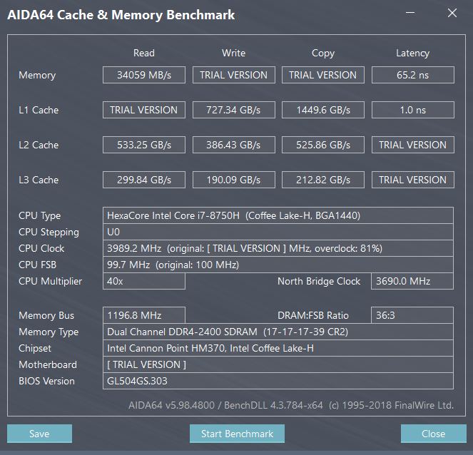 Enabling XMP on ASUS laptop - CPUs, Motherboards, and Memory