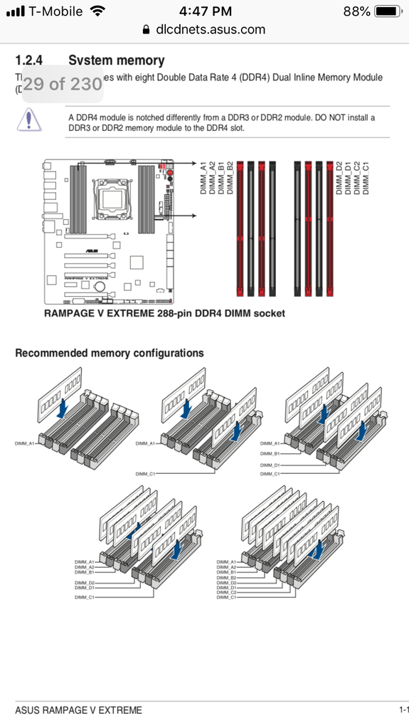 ram placement - cpus  motherboards  and memory