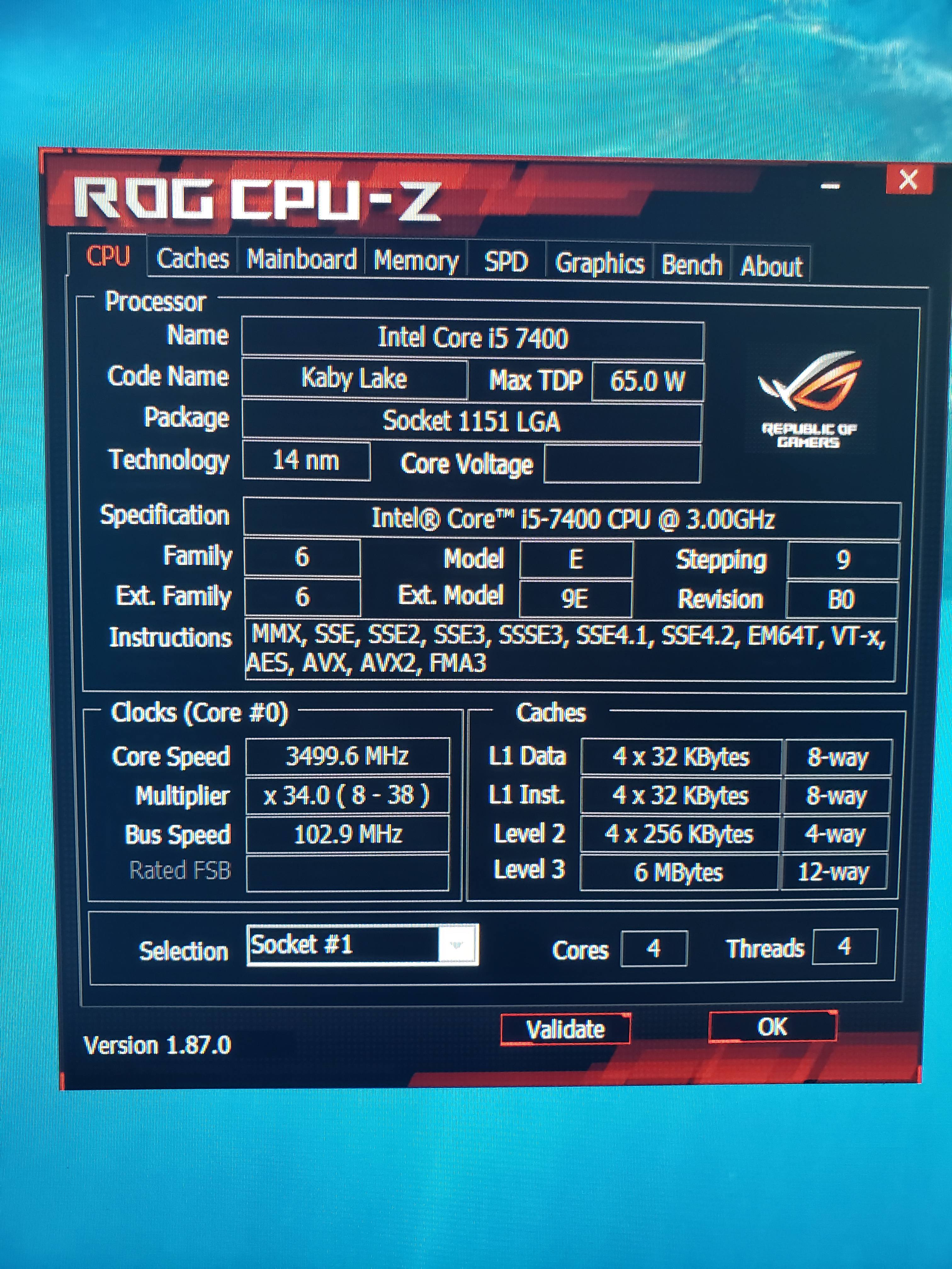 Overclock i5 7400 non k - CPUs, Motherboards, and Memory - Linus