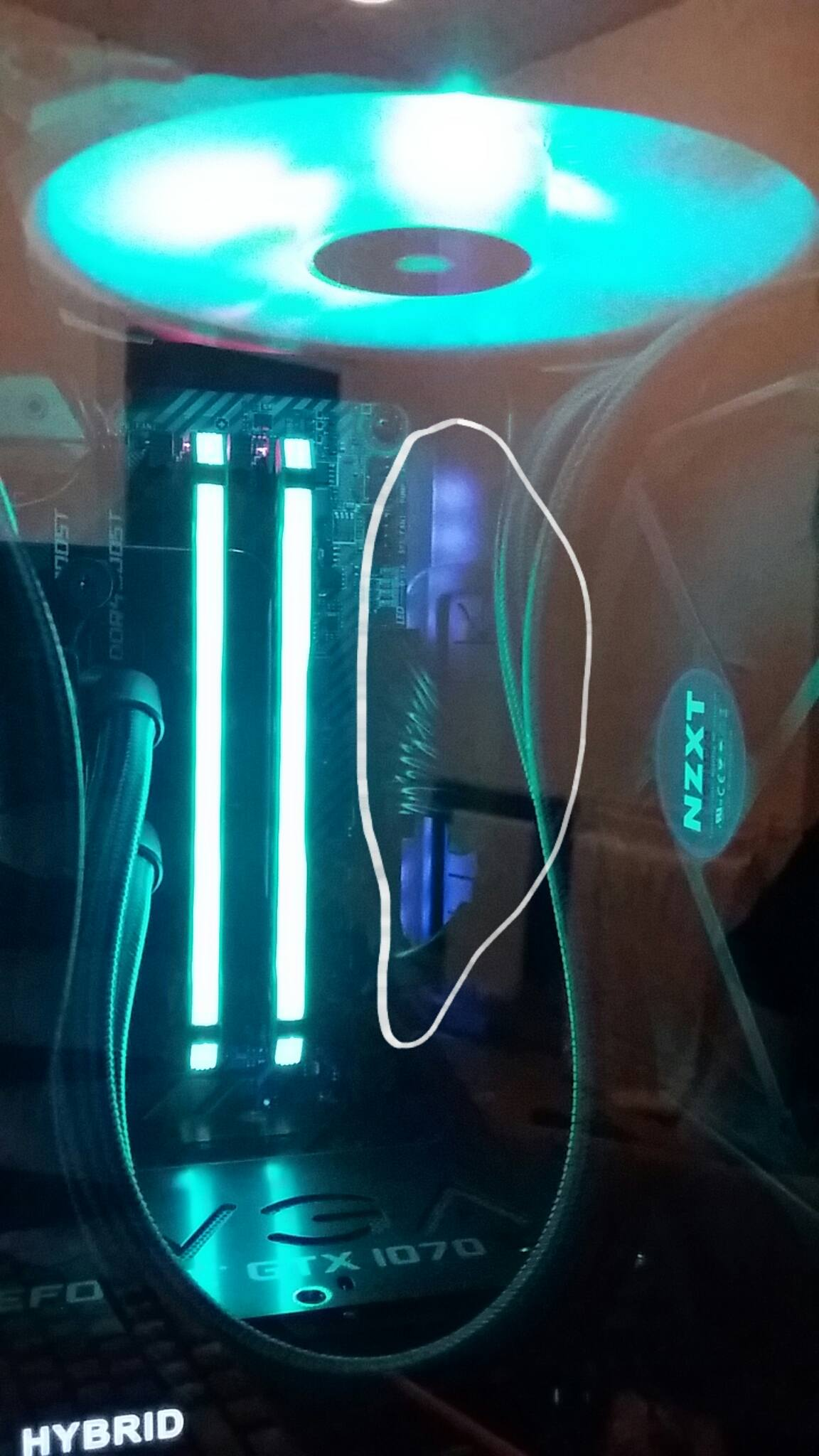 How to turn off this RGB MOBO lights?    NOTHING works