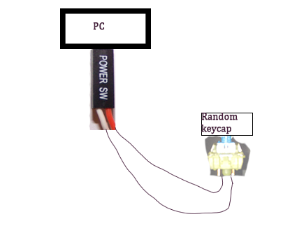 Making new power switch for pc - CPUs, Motherboards, and