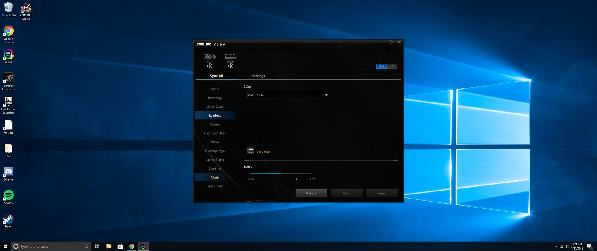 Asus Aura Sync Problems - Programs, Apps and Websites