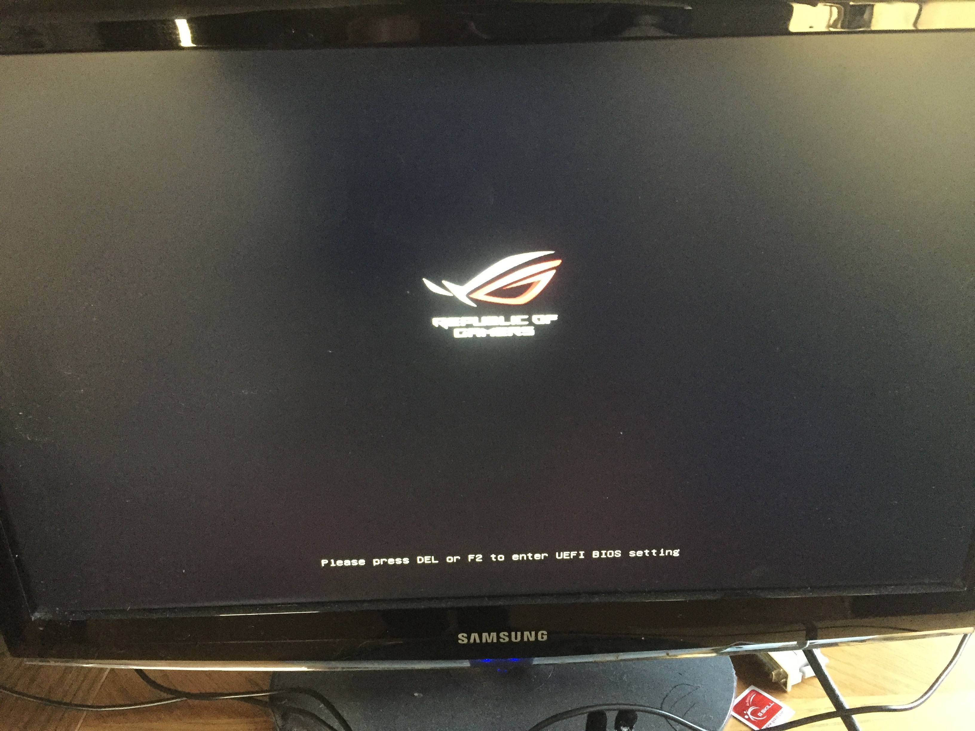 firmware fix for ausus rog half screen issue