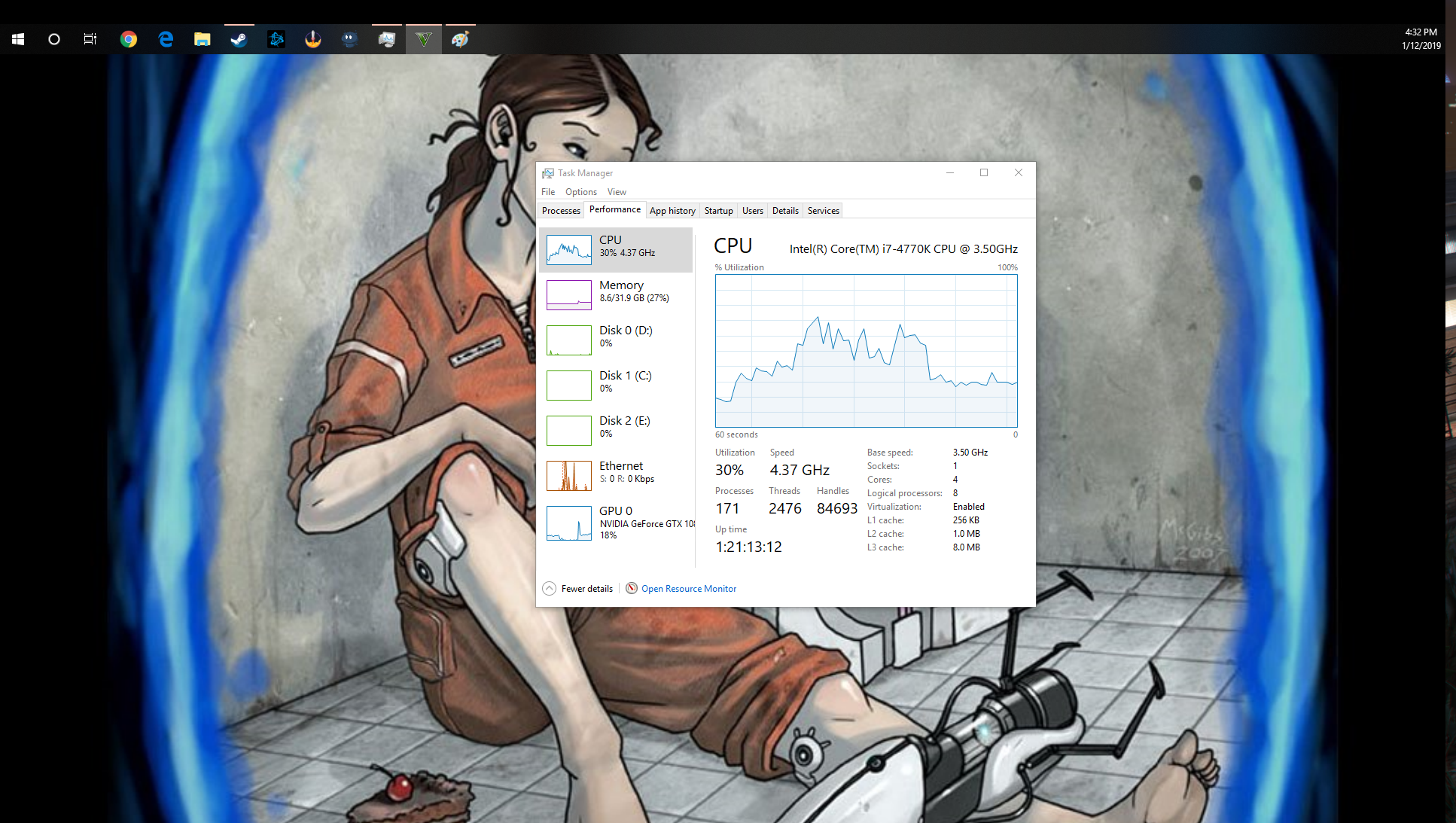 High cpu usage and low gpu usage +(pictures) - Graphics