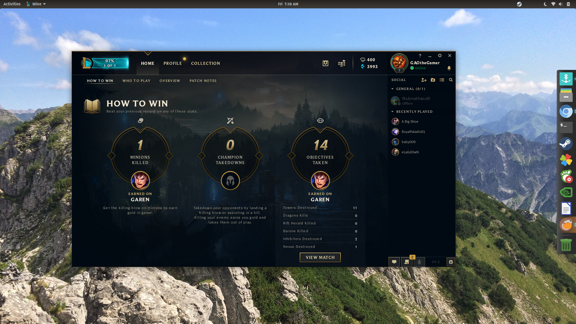 How to play league of legends on Linux - Guides and