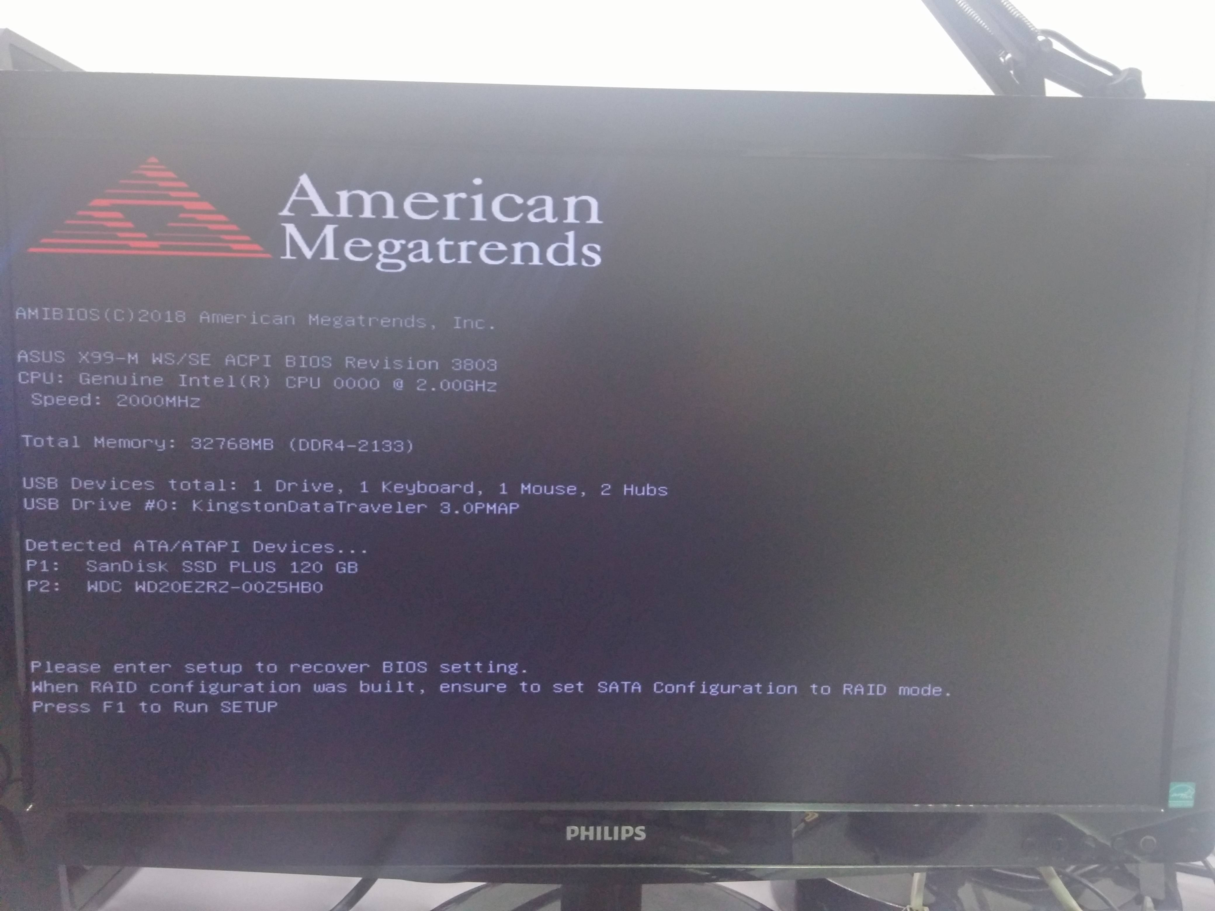 Asus X99 M WS/SE doesn't boot - Troubleshooting - Linus Tech Tips