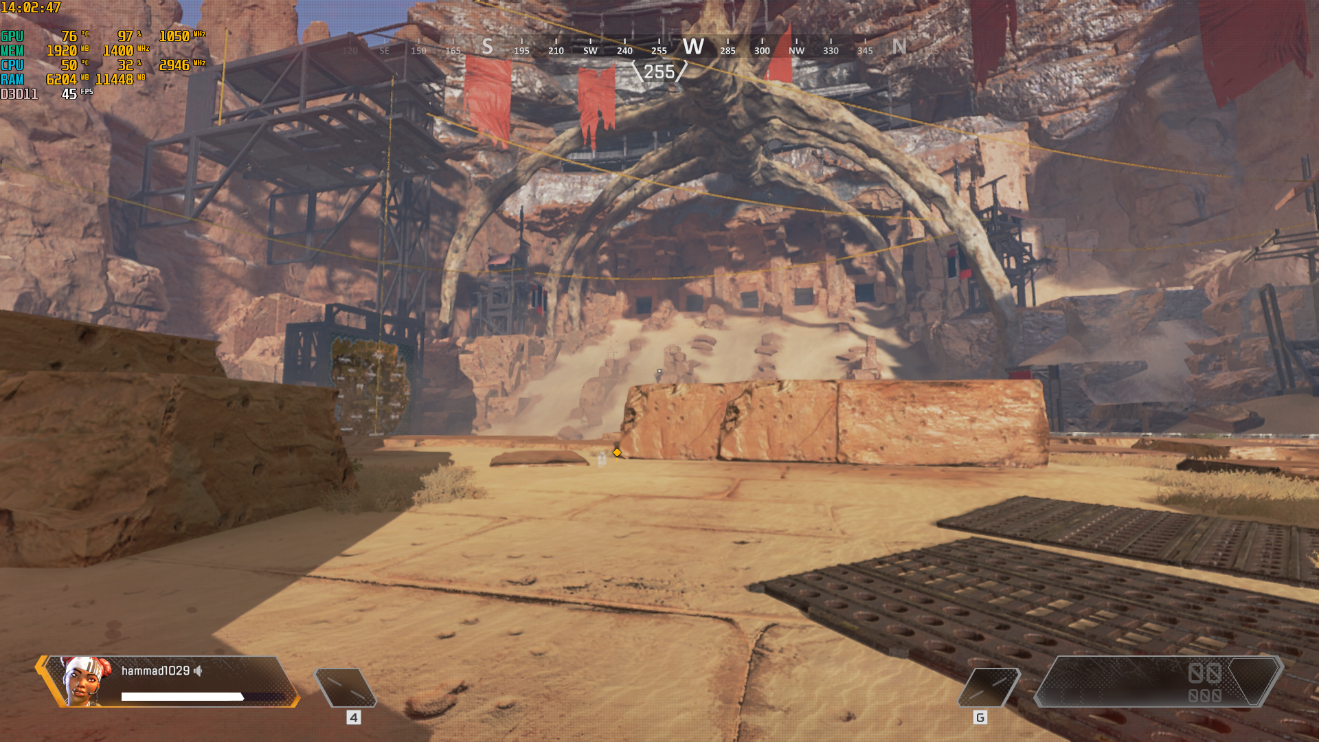 unbearable perfomance on apex legends with the r9 270x - PC