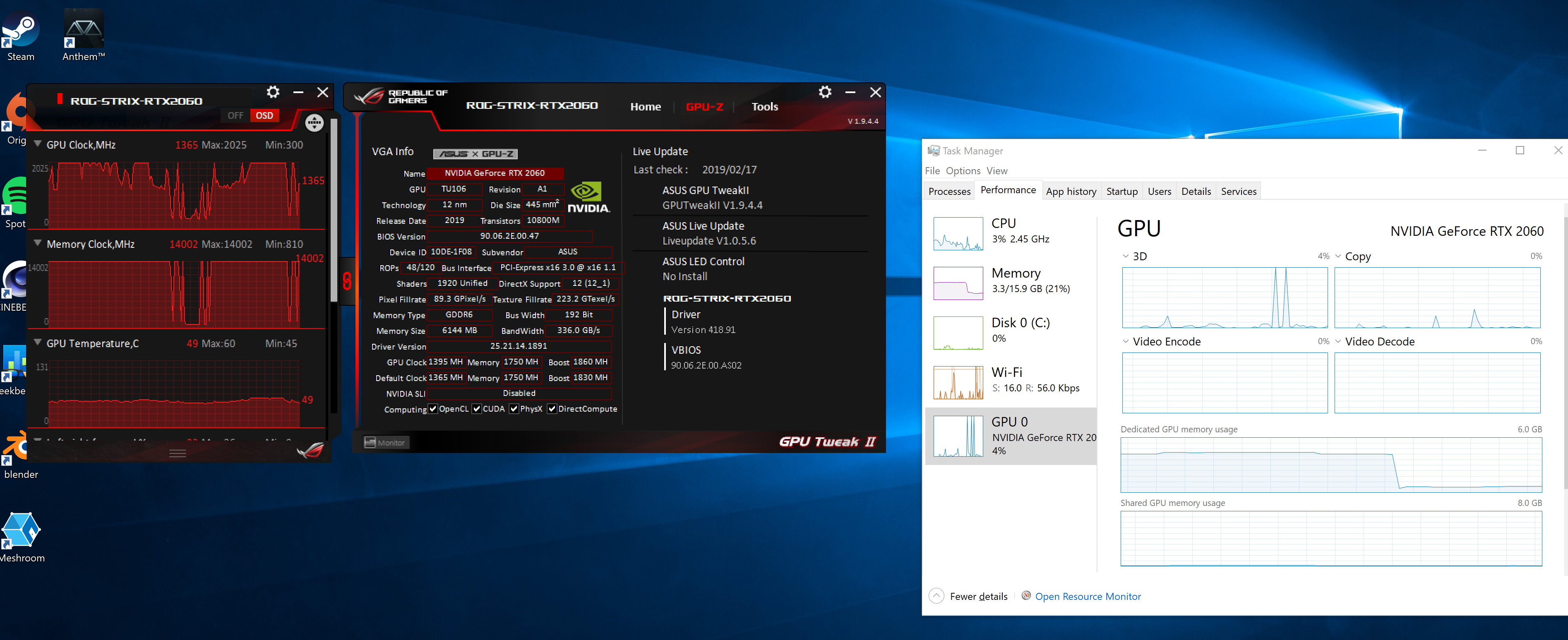 Task Manager not reporting correct GPU usage? - Graphics Cards