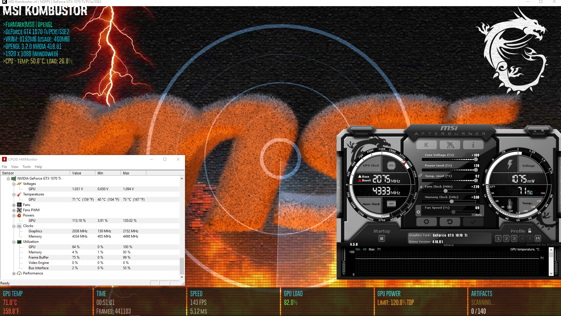 The GPU Overclocking Database - Page 19 - Graphics Cards