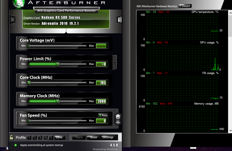 RX 580 clock speed automatically decreasing - Graphics Cards - Linus