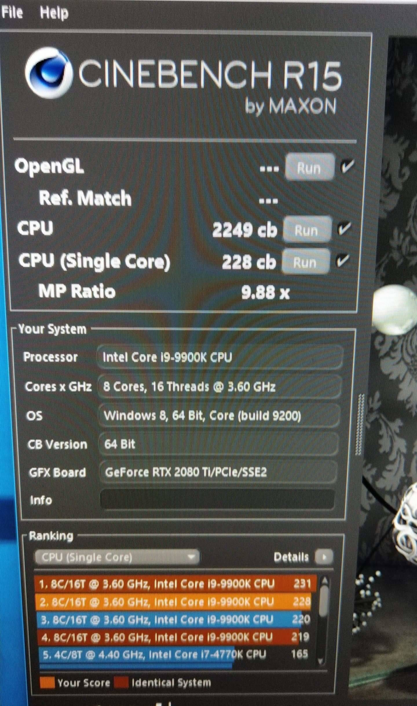 7980XE ( 2 cores hotter than the other ones) - CPUs