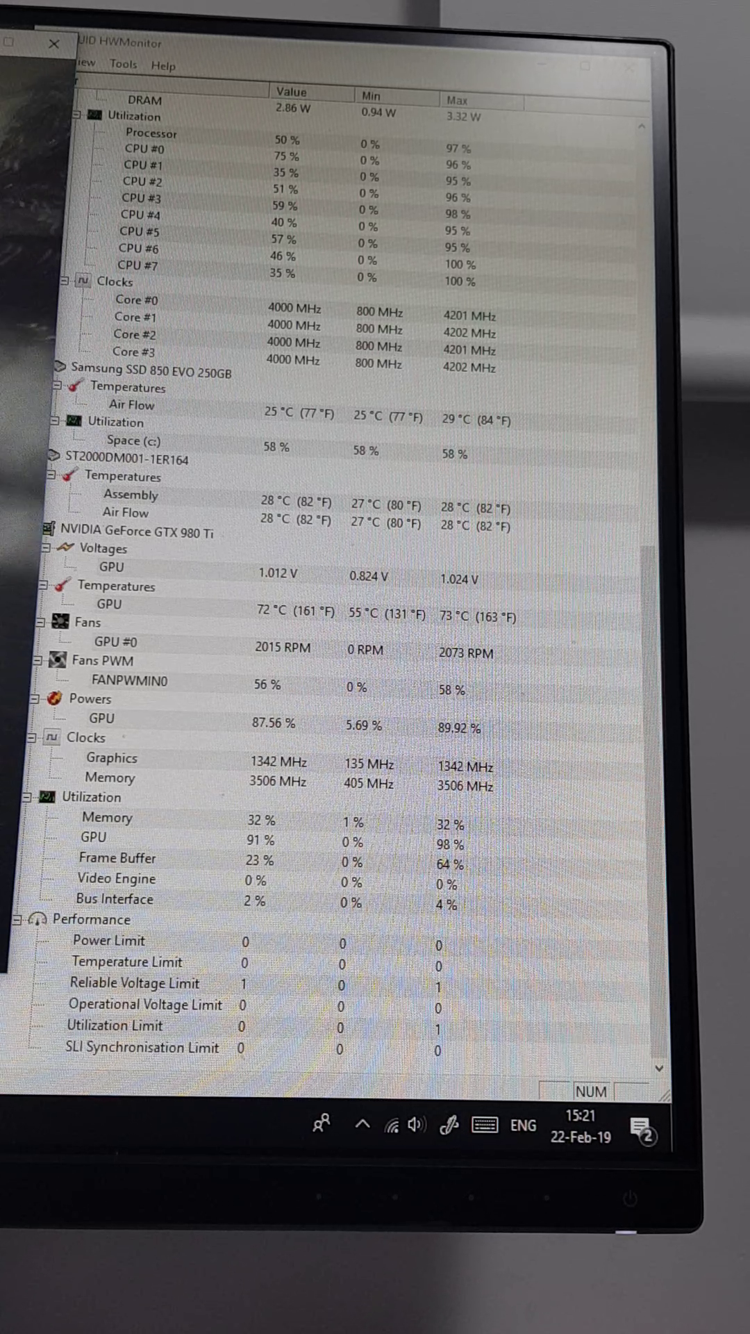 Computer power crashes in FPS intensive mid to high graphic